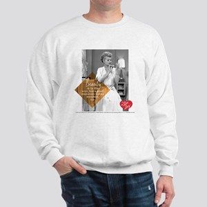I Love Lucy Beauty Sweatshirt