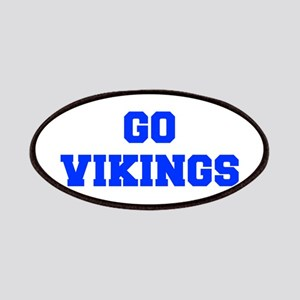Vikings-Fre blue Patch