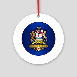 Alberta COA Ornament (Round)