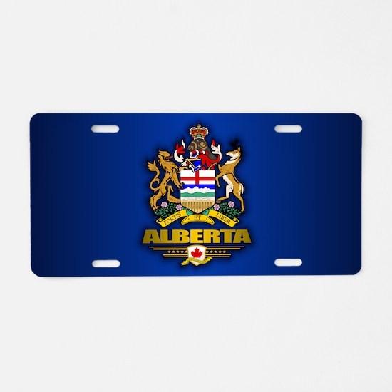 Alberta COA Aluminum License Plate