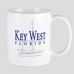Key West Sailboat - Mug