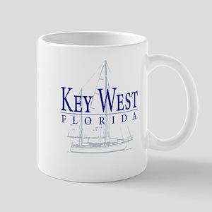 Key West Sailboat - Mug