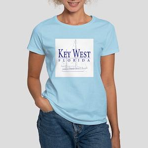 Key West Sailboat - Women's Light T-Shirt