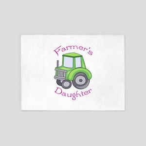FARMERS DAUGHTER 5'x7'Area Rug