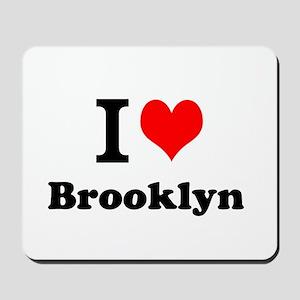 I Love Brooklyn Mousepad