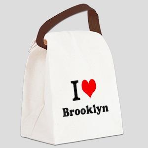 I Love Brooklyn Canvas Lunch Bag