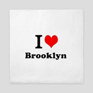 I Love Brooklyn Queen Duvet