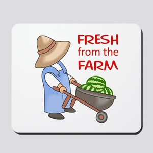 FRESH FROM THE FARM Mousepad
