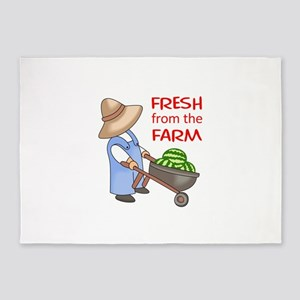 FRESH FROM THE FARM 5'x7'Area Rug