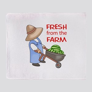 FRESH FROM THE FARM Throw Blanket