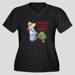 FRESH FROM THE FARM Plus Size T-Shirt
