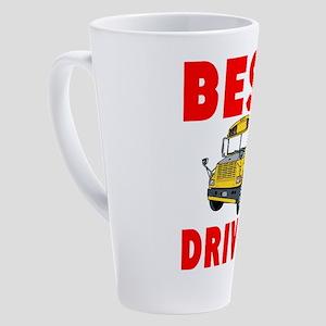 Best School Bus Driver 17 oz Latte Mug