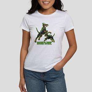 Manchester Terrier Zombie Patrol Women's T-Shirt