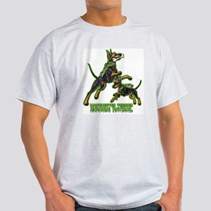 Manchester Terrier Zombie Patrol Light T-Shirt