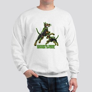Manchester Terrier Zombie Patrol Sweatshirt