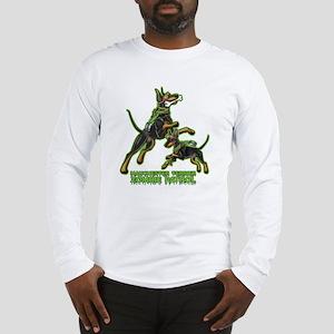 Manchester Terrier Zombie Patr Long Sleeve T-Shirt