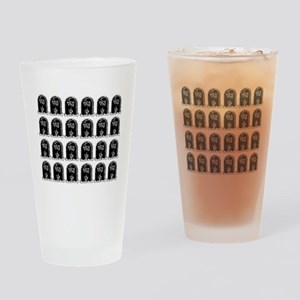 tombstones graves f you mature Drinking Glass