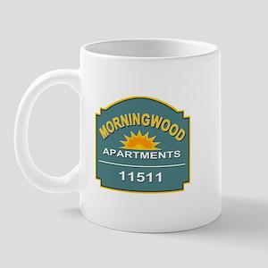 Morning Wood Apartments Mug