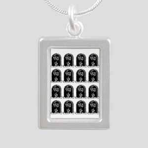 tombstones graves f you mature Necklaces