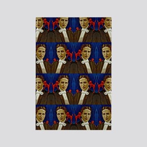 harry houdini devils red blue Rectangle Magnet