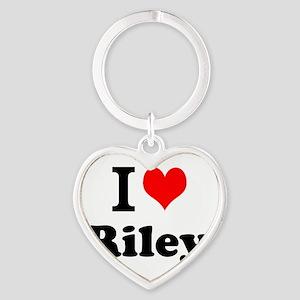 I Love Riley Keychains