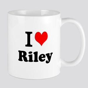 I Love Riley Mugs