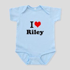 I Love Riley Body Suit