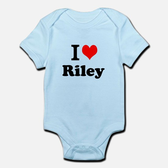 I Love Riley Body Suit