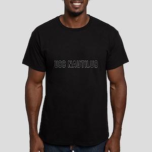 USS Nautilus Men's Fitted T-Shirt (dark)