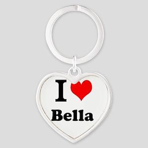 I Love Bella Keychains