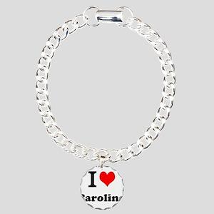 I Love Caroline Bracelet