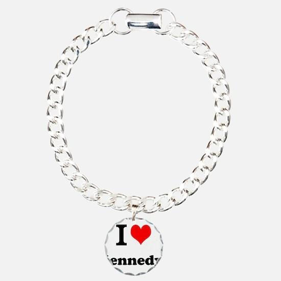 I Love Kennedy Bracelet