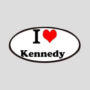 I Love Kennedy Patch
