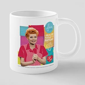 I Love Lucy Payday 20 oz Ceramic Mega Mug