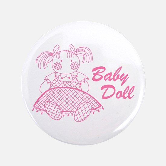 """Baby Doll 3.5"""" Button"""