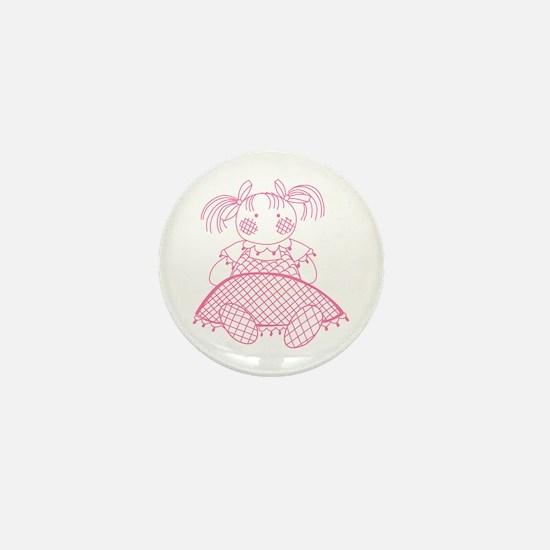 BABY DOLL Mini Button