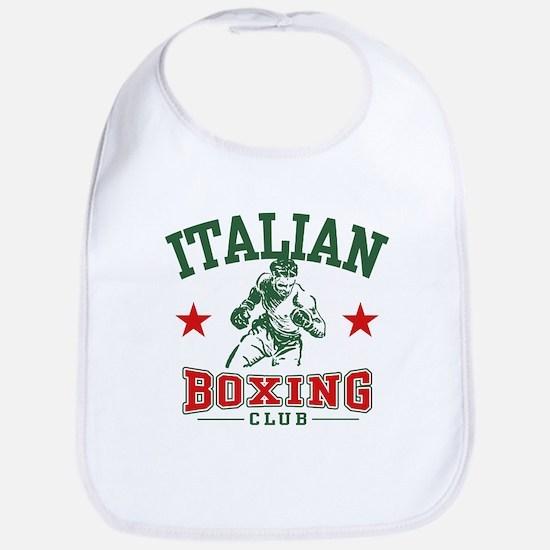 Italian Boxing Bib