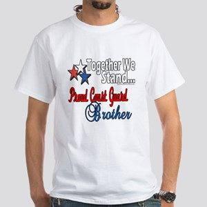 Coast Guard Brother White T-Shirt