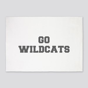 WILDCATS-Fre gray 5'x7'Area Rug