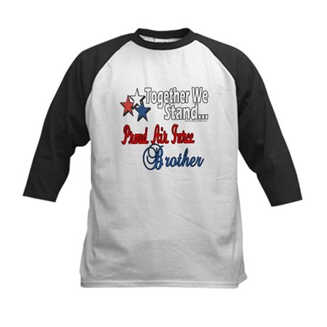 Air Force Brother Kids Baseball Jersey