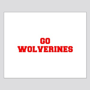 WOLVERINES-Fre red Posters