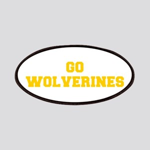 Wolverines-Fre yellow gold Patch