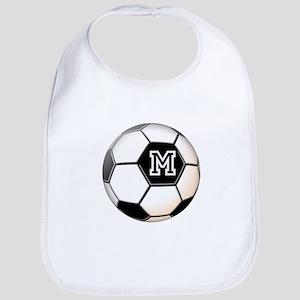Soccer Ball Monogram Bib