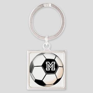 Soccer Ball Monogram Keychains