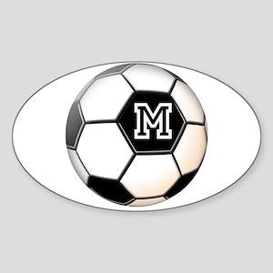 Soccer Ball Monogram Sticker