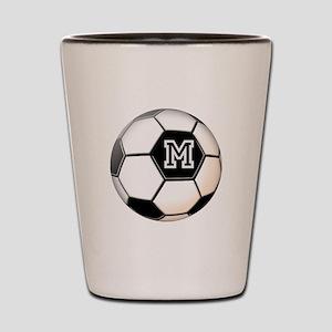 Soccer Ball Monogram Shot Glass