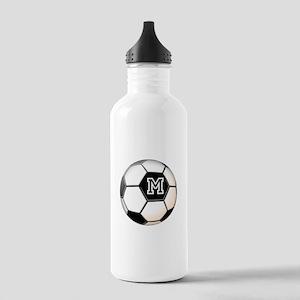 Soccer Ball Monogram Water Bottle