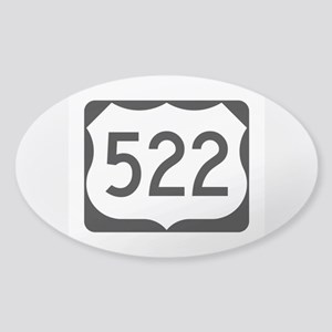 US Route 522 Sticker (Oval)