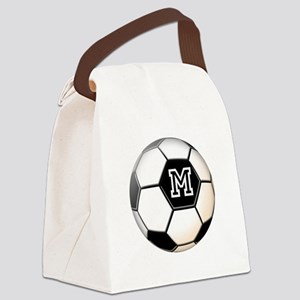 Soccer Ball Monogram Canvas Lunch Bag