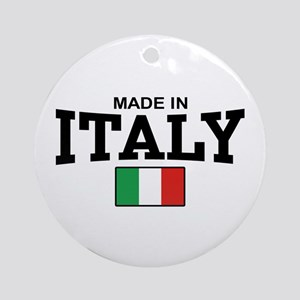 Made In Italy Ornament (Round)